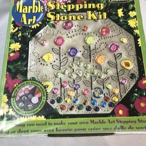 "Kids Marble Art Stone Kit 8"" Octagon Stepping Ston"